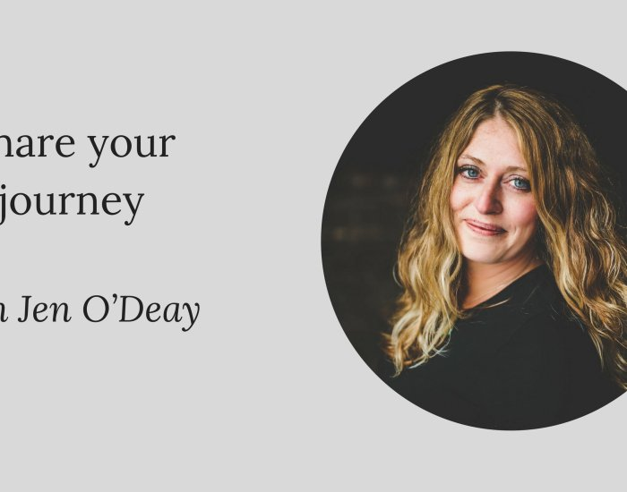 #PIB53 Share your journey: Jen O'Deay