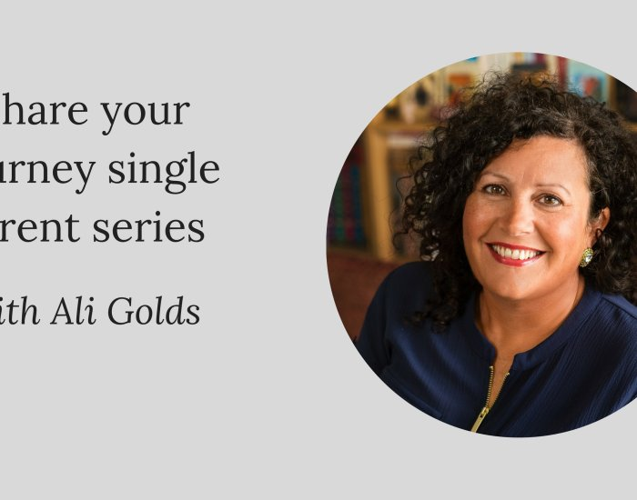 Share your journey single parent series W/Ali Golds