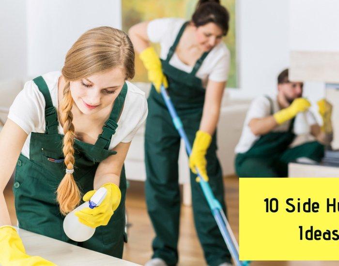 10 Side Hustle Ideas