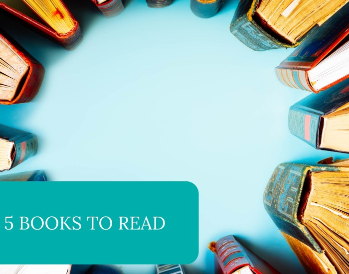 Top 5 Books to Read