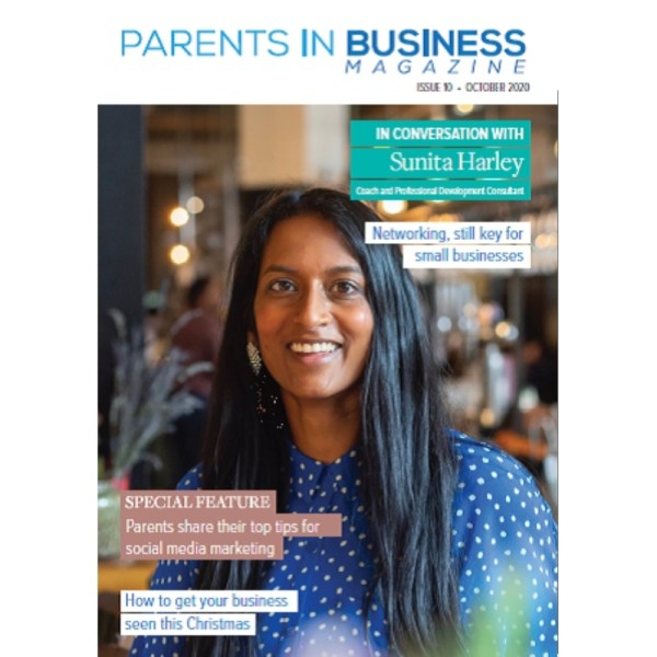 Parents in business magazine