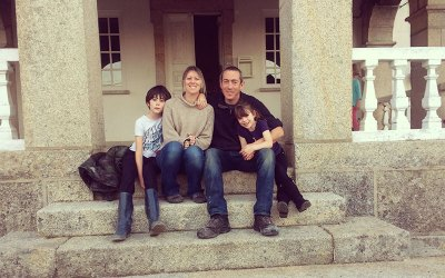 Family Story from Alternative school founder Zoe and her family