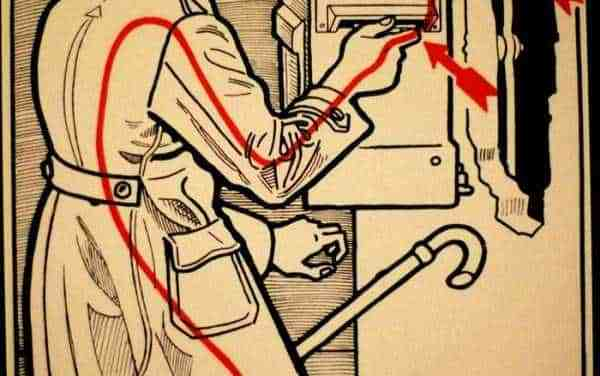 Folgorati: Imbucando una cartolina