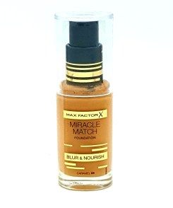 max factor miracle match no. 85 caramel