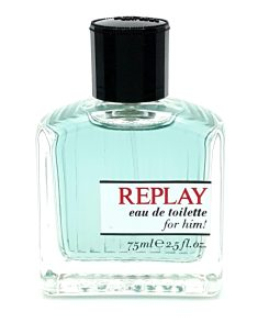 Replay for Him! 75ml Eau de Toilette