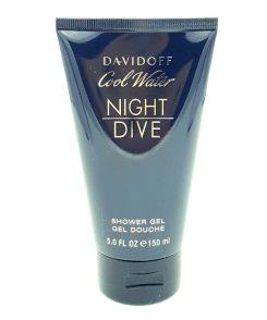 Davidoff Cool Water Night Dive 150ml Shower Gel