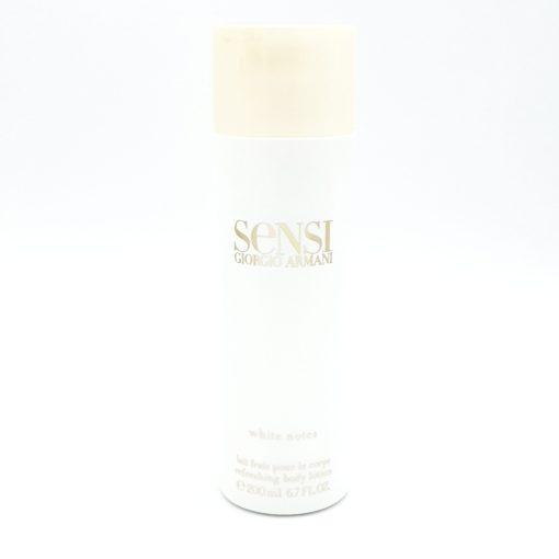 Giorgio Armani Sensi White Notes 200ml Refreshing Body Lotion