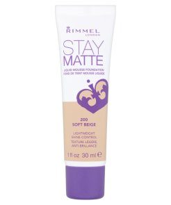 Rimmel Stay Matte Foundation 200 Soft Beige
