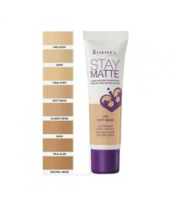 Rimmel Stay Matte Foundation 400 Natural Beige