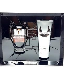 Paco Rabanne Invictus Gift Set 50ml Eau de Toilette + 100ml All Over Shampoo