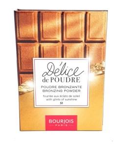 Bourjois Délice de Poudre Bronzing Powder 51 Light & Medium Skin