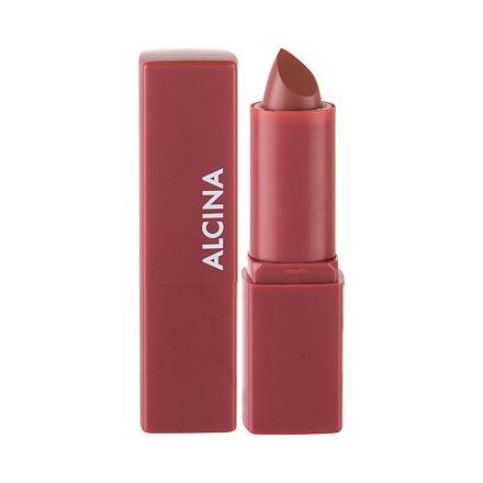 ALCINA Pure Lip Color Cremiger Lippenstift mit wertvollen �len 3,8 g Farbton 01 Natural Mauve
