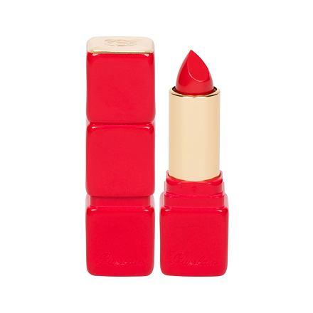 Guerlain KissKiss Creamy Shaping Lip Colour Feuchtigkeitsspendender Lippenstift 3,5 g Farbton 325 Rouge Kiss
