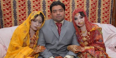 One-man-two-wives-same-day-Pakistan