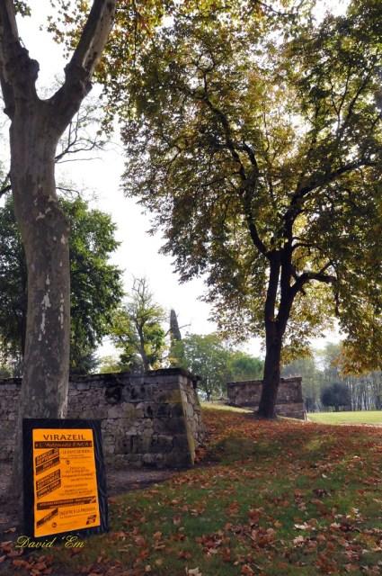1) L'Automnale au parc du château