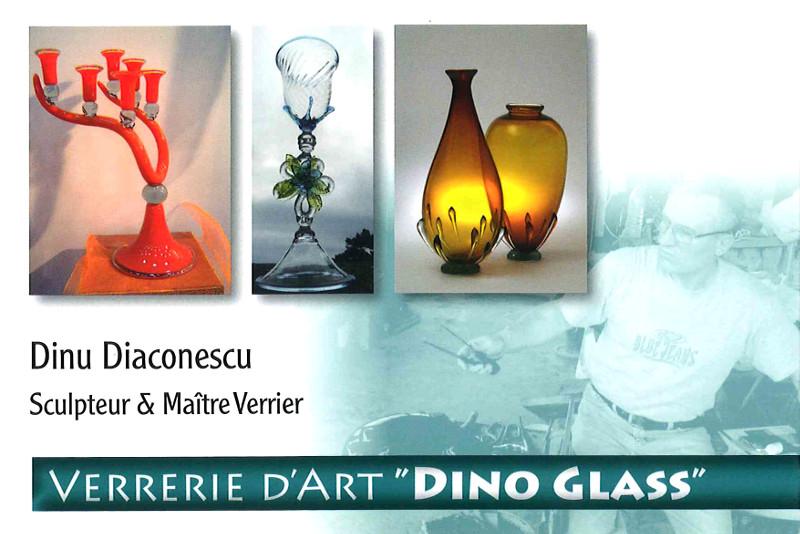 Verrerie d'art Dino Glass