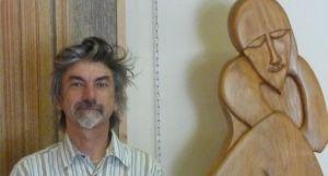 Le sculpteur Olivier Torchet à Sainte Foy - 08/08/2017 - ladepeche.fr