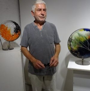 Bernard Giraud, un verrier sculpteur à la Confrérie des métiers d'art - 03/07/2018 - ladepeche.fr