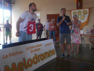 Le championnat du monde des cracheurs de graines de melon - 15/08/2018 - ladepeche.fr