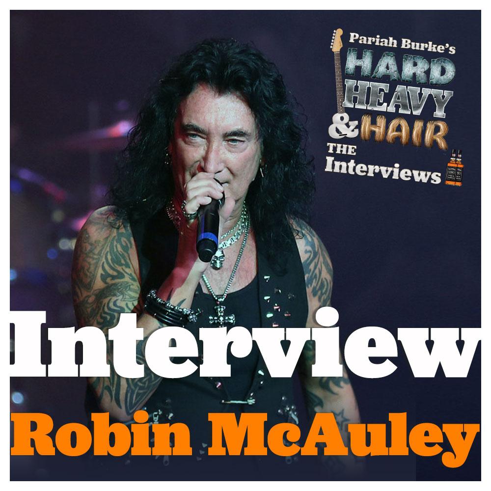 Robin McAuley (McAuley Schenker Group, Black Swan, Raiding the Rock Vault) Interview