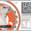 lean cat with salmon