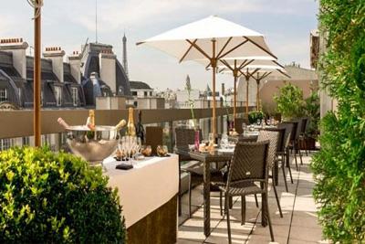 Restaurant Terrasse Romantique W De Lhtel Warwick