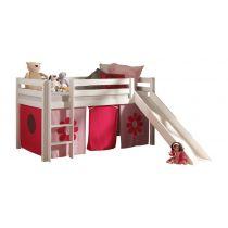 lit enfant avec toboggan pino pompier
