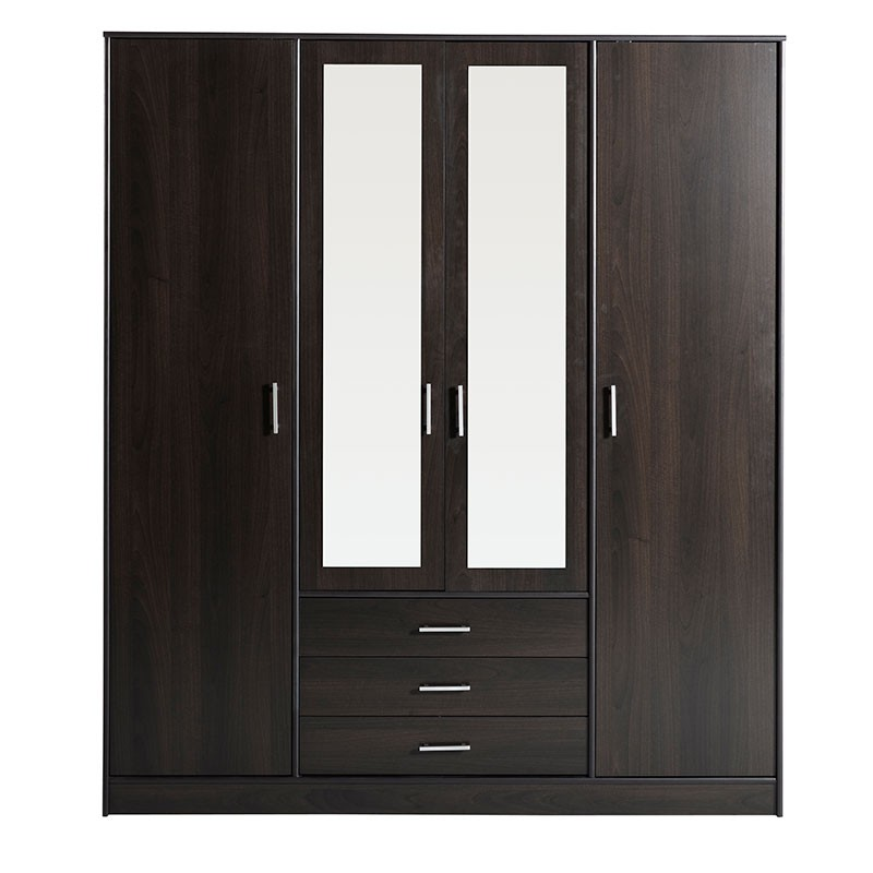Armoire 4 Portes 3 Tiroirs Galaxy Cafe