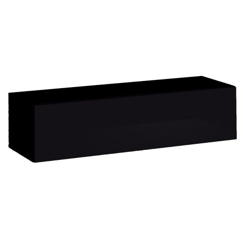banc tv mural design switch 120cm noir