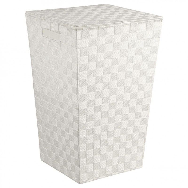 Panier Linge 53cm Blanc