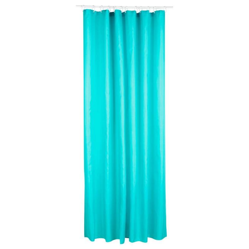 rideau de douche polyester 180x200cm vert d eau
