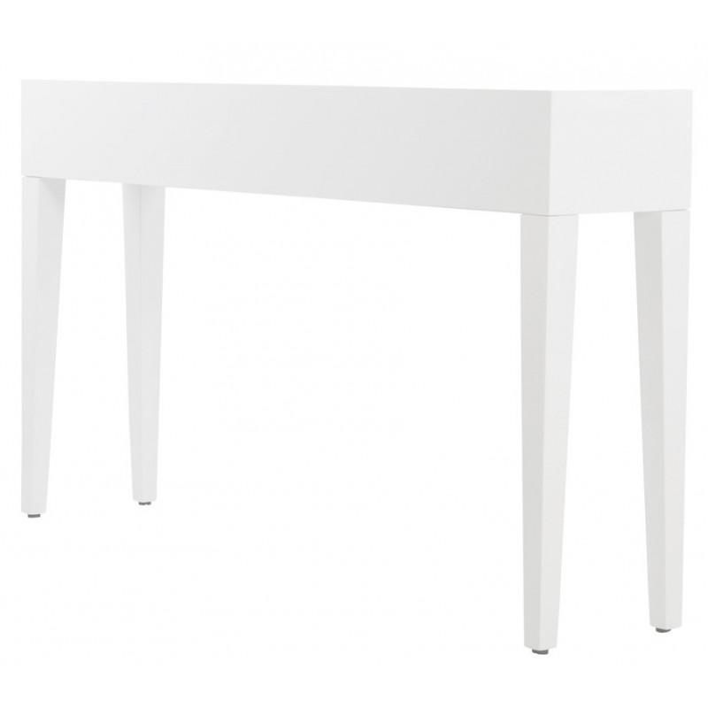 table console unity en bois blanc