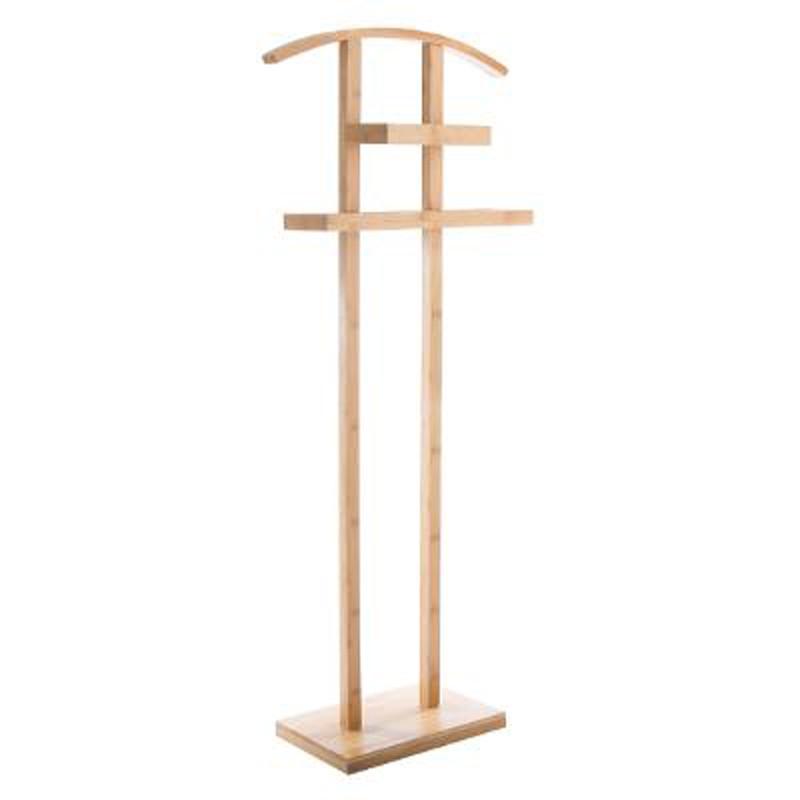 valet de salle de bain bambou 113cm naturel