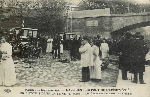 accident de bus à paris
