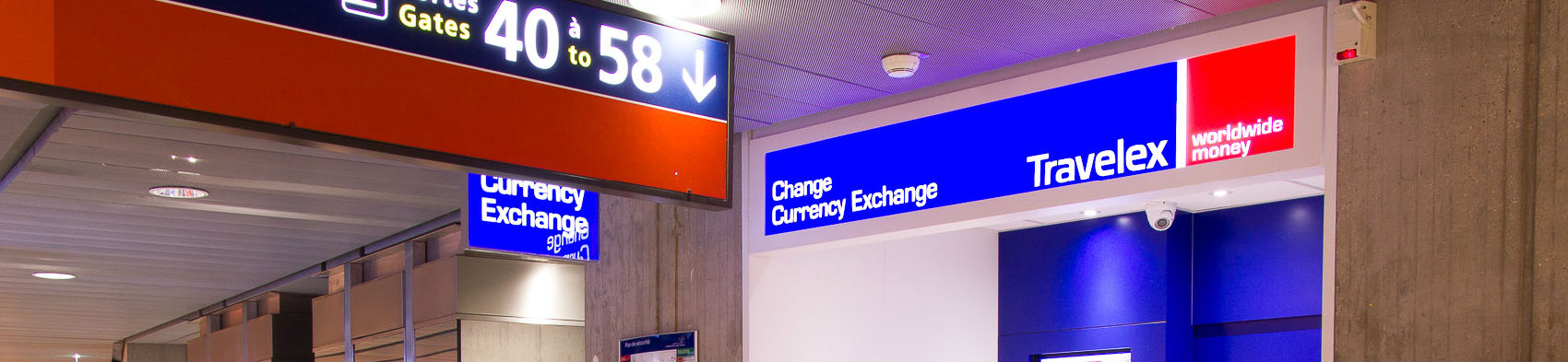 buying foreign currencies