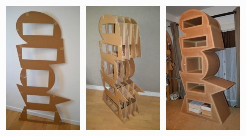 comment fabriquer des meubles en carton