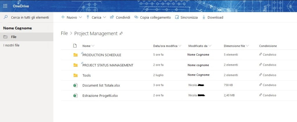 Sincronizzare Cartelle Condivise OneDrive