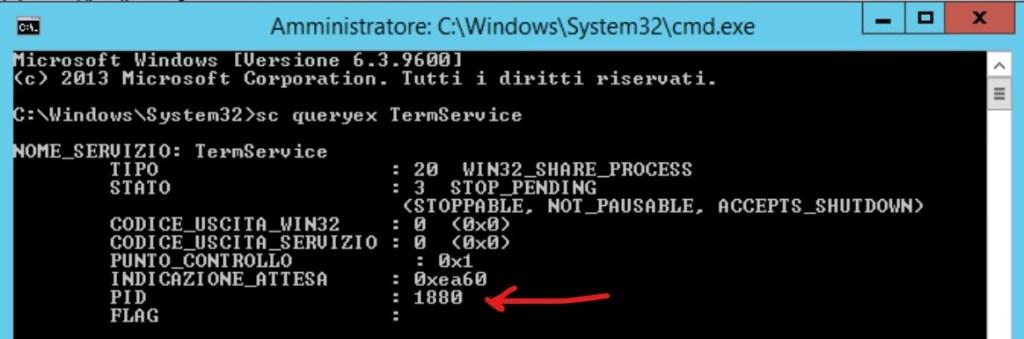 Sbloccare Servizio Desktop Remoto
