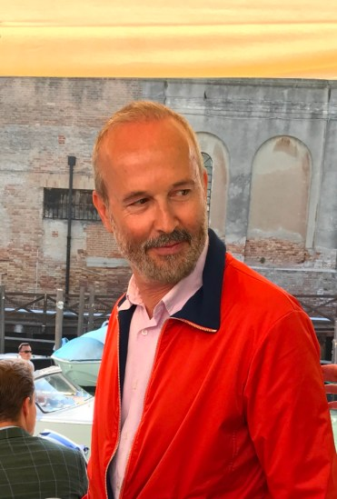 Erwin Wurm à Venise, 2017 © Isabelle Henricot