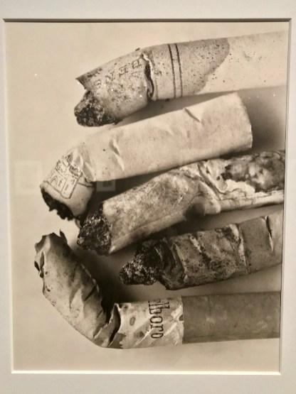 Irving Penn, Cigarette No. 125, New York, 1972 © Isabelle Henricot