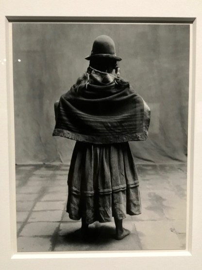 Irving Penn, Standing Woman with Braids, Cuzco, 1948 © Isabelle Henricot