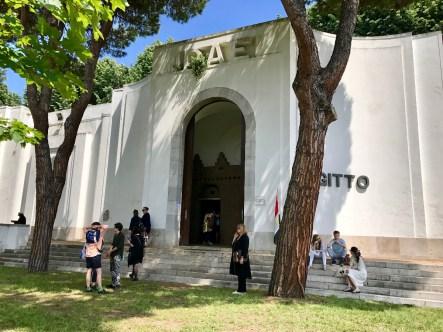 Pavillon de l'Egypte, Venise 2017 © Isabelle Henricot