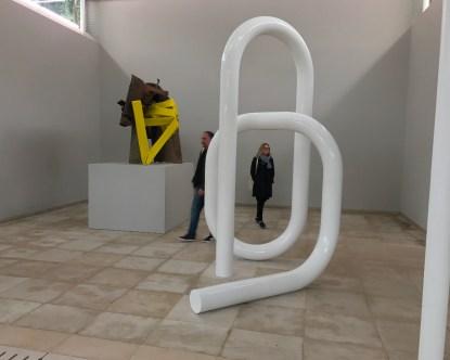 Pavillon suisse, Carol Bove © Isabelle Henricot