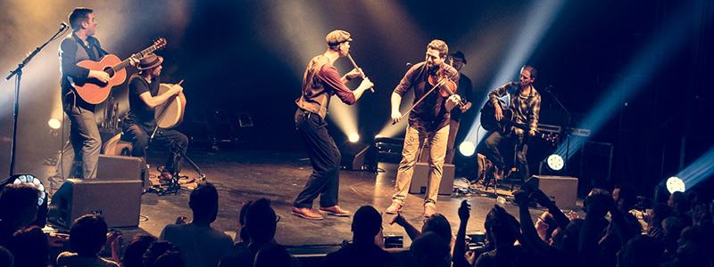Doolin' en concert au Paris Celtic Live