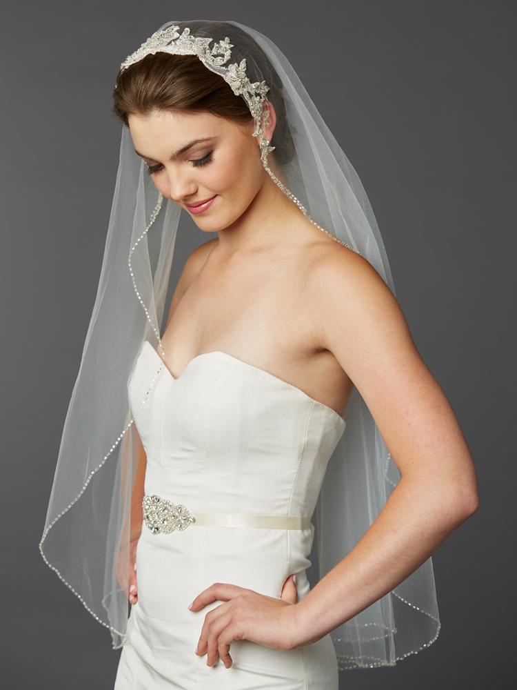 Fingertip Bridal Veil