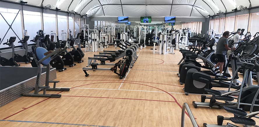 club de fitness paris country club