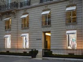 Chanel fashion store in Paris