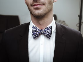 French bow tie fashion - Colonel Moutarde