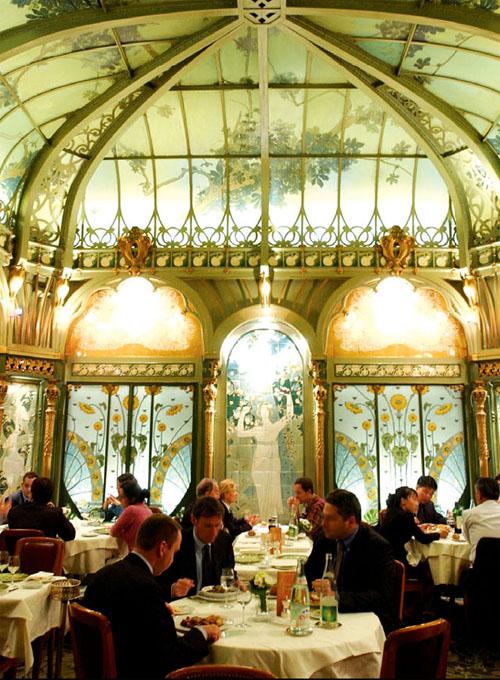 Paris Art Nouveau Restaurants Art Deco Restaurants