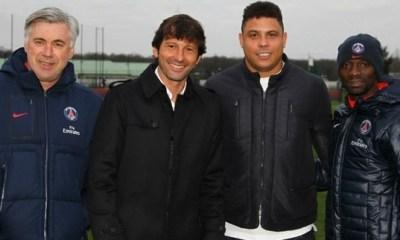 Ronaldo souhaite le meilleur au PSG